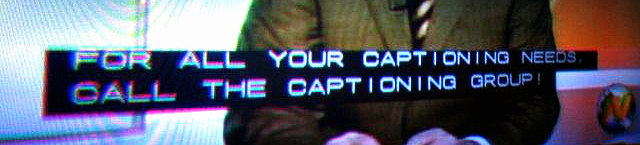 The Captioning Group - For All Your Captioning Needs