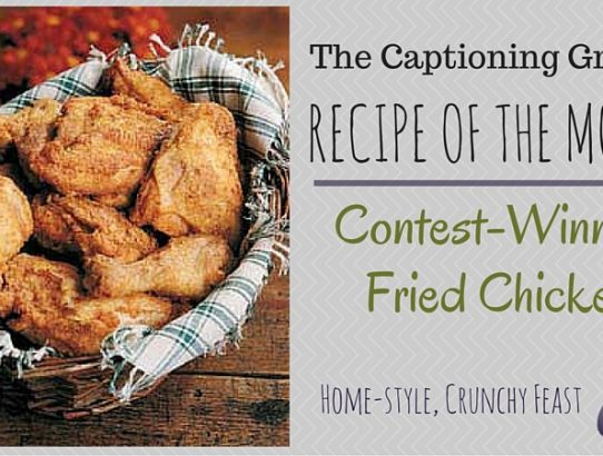 TCG Recipe of the Month - Fried Chicken