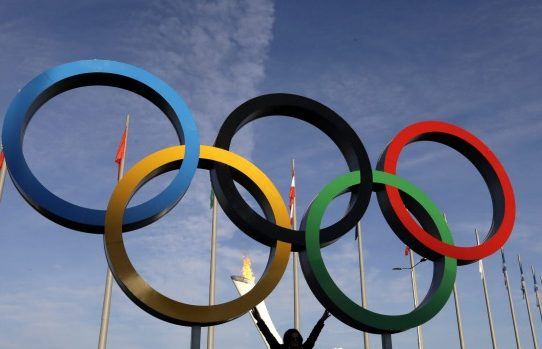 Olympic Rings - Rio by Numbers
