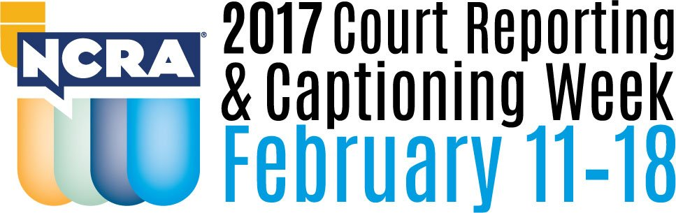 Court Reporting and Captioning Week 2017