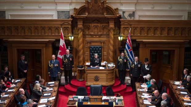 BC Legislature - Interior