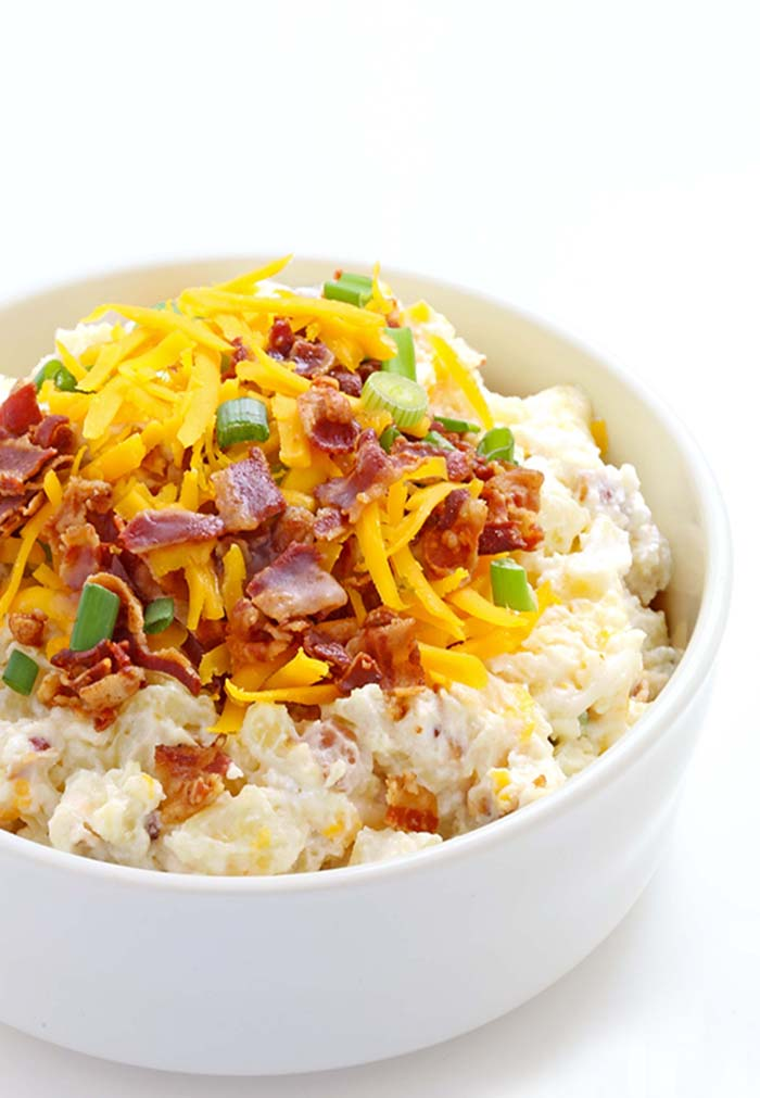 Easy 15-Minute Loaded Baked Potato Salad