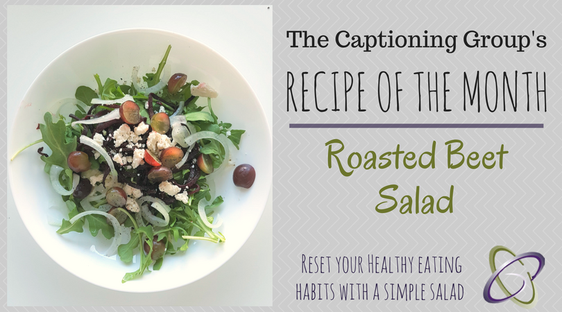 Roasted Beet Salad - TCG Recipe of the Month