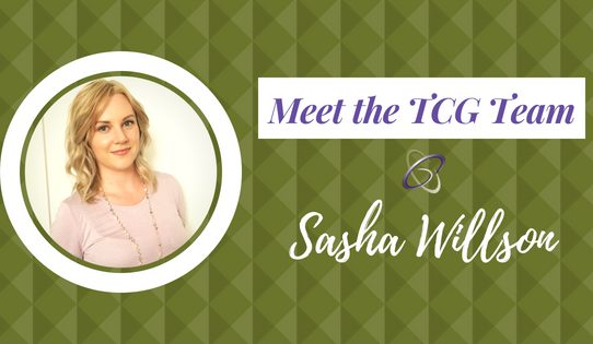 Meet the TCG Team Sasha Willson