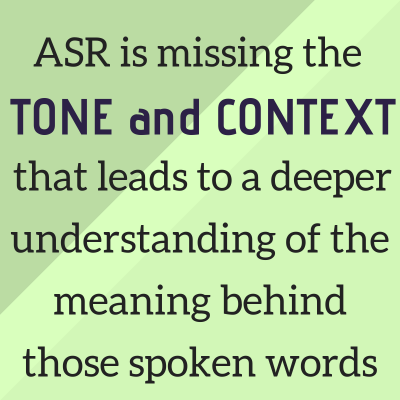 ASR: When Verbatim Isn't Enough