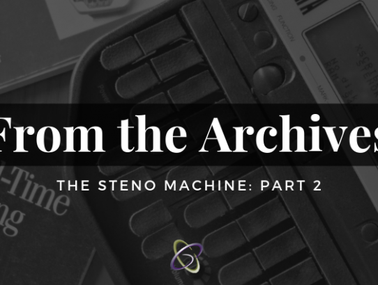 The Steno Machine Part 2