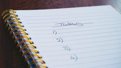 A day in the life of a captioner - to-do list